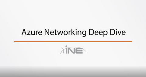 Azure : Networking Deep Dive - INE