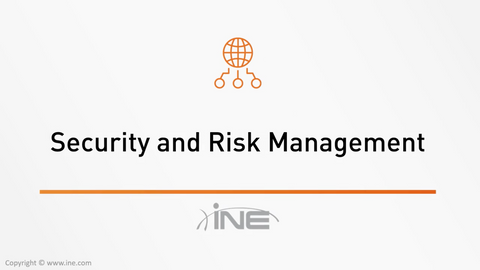CISSP Technology Course: Domain 1 - Security And Risk Management