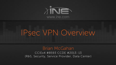 CCIE R&S V5 :: IPsec VPN
