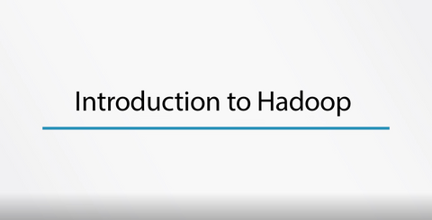 Introduction To Hadoop