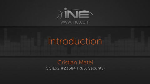 CCNA Security Technology Course: 210-260 IINS - INE