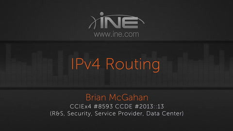 CCIE R&S V5 :: IPv4 Protocol Independent Routing - INE