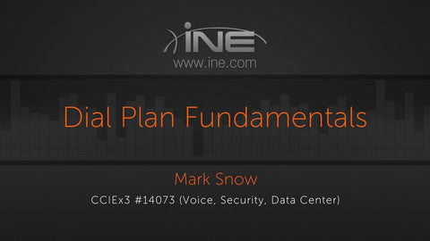 CCIE Collaboration: UCM :: Traditional & Globalized Dial Plan And Session Management - INE