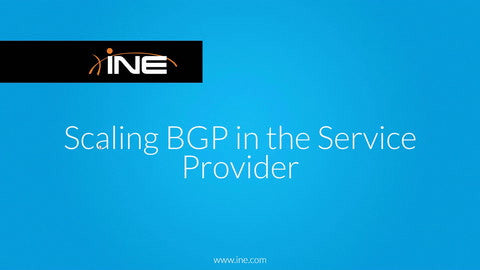 CCNP Service Provider Technology Course: 642-885 SPADVROUTE - INE