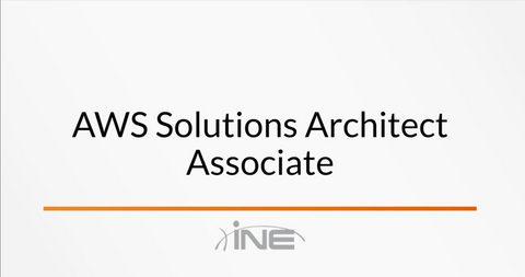 AWS Certified Solutions Architect - Associate - INE
