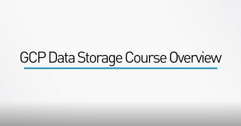 Google Cloud Platform Data Storage - INE