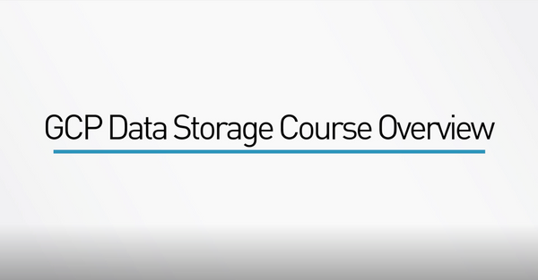 Google Cloud Platform Data Storage
