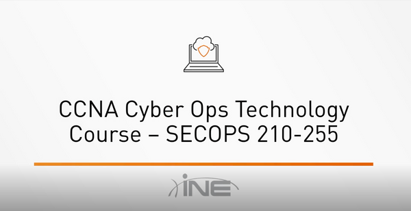 CCNA Cyber Ops Technology Course: SECOPS 210-255