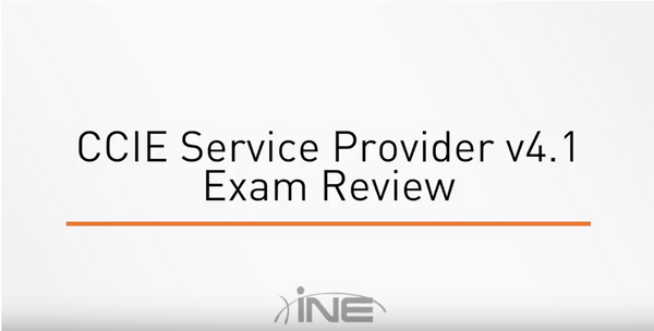 CCIE Service Provider V4.1 Exam Review