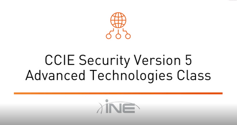 Introduction To CCIE Security V5 - INE