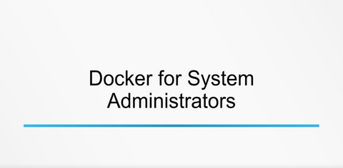 Using Docker - INE