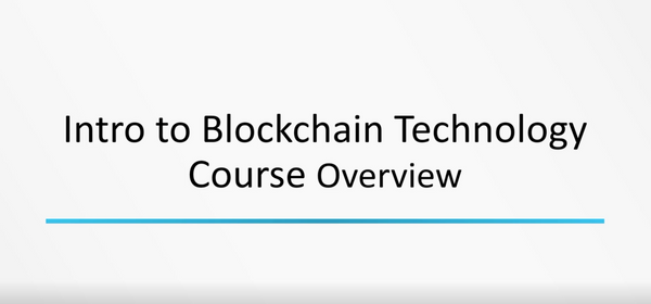 Introduction To Blockchain Technology - INE