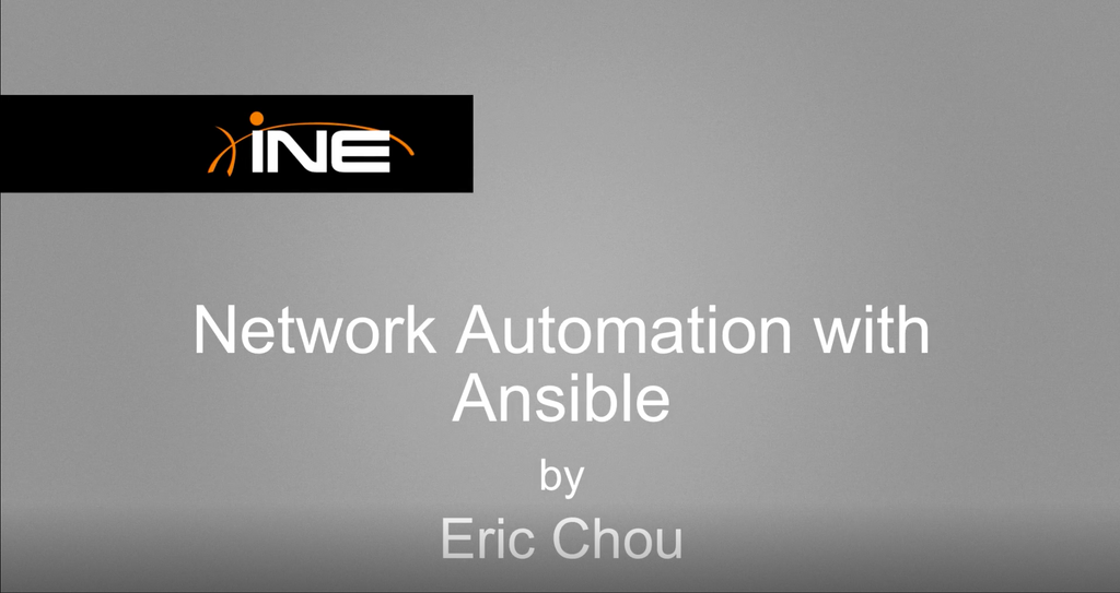 Network Automation With Ansible (v2)