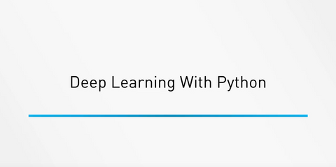 Deep Learning With Python - INE