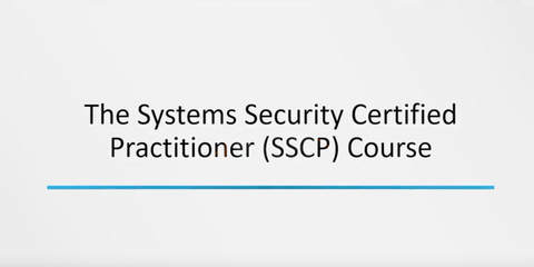 The Systems Security Certified Practitioner (SSCP)