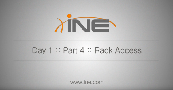 CCIE R&S 5-Day Bootcamp Class-on-Demand V4.1 - INE