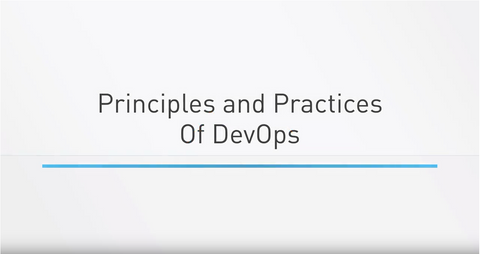 Principles & Practices Of DevOps