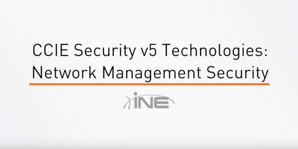 Network Management Security - INE