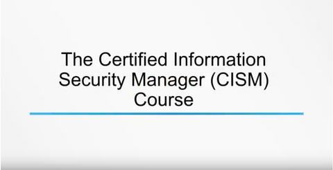 Information Security Governance (CISM) - INE