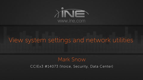 CCIE Collaboration: CUCM :: Server Administration And User Synchronization & Control - INE