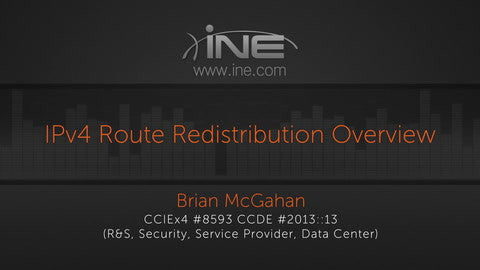 CCIE R&S V5 :: Route Redistribution - INE