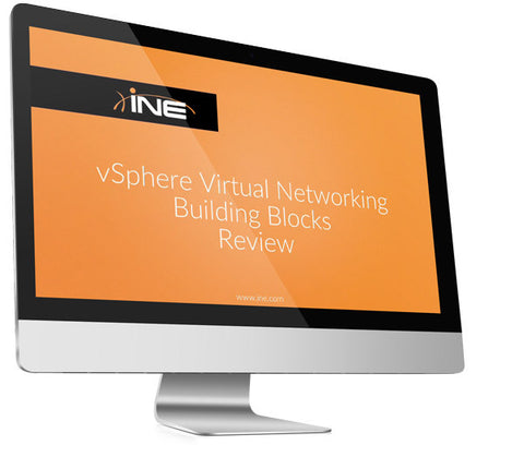 vSphere Network Design for Cisco Professionals Course Bundle