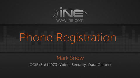 CCIE Collaboration: UCM :: Phone Registration, Settings And Basic Audio & Video Calling