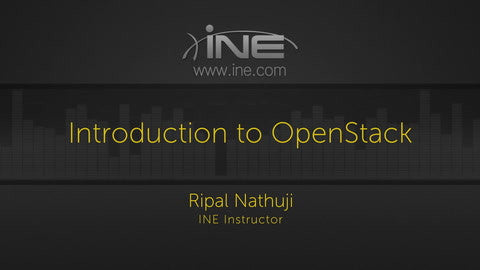 Introduction To OpenStack - INE