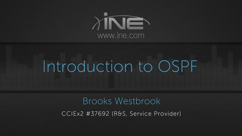 Intermediate OSPF Course