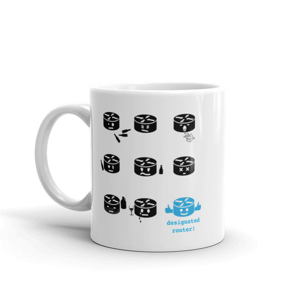 Designated Router – Mug - INE