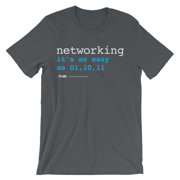 Networking Is Easy – T-Shirt - INE