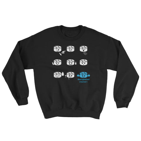 Designated Router – Sweatshirt