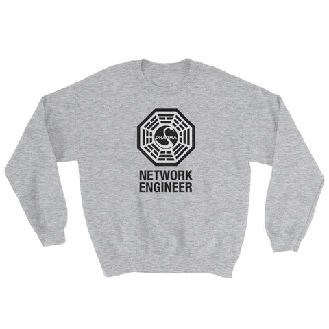 Dharma Initiative Network Engineer – Sweatshirt - INE