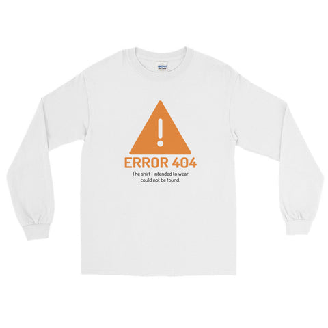 Error 404 – Long Sleeve T-Shirt - INE
