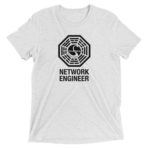 Dharma Initiative Network Engineer – T-Shirt - INE
