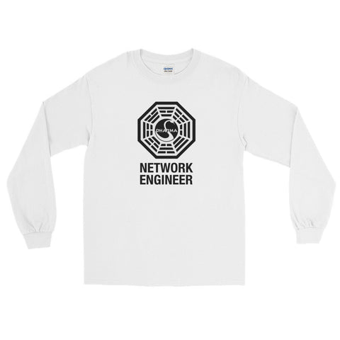 Dharma Initiative Network Engineer – Long Sleeve T-Shirt - INE