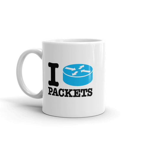 I Route Packets – Mug - INE