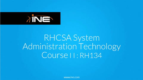 RHCSA System Administration Technology Course II: RH134