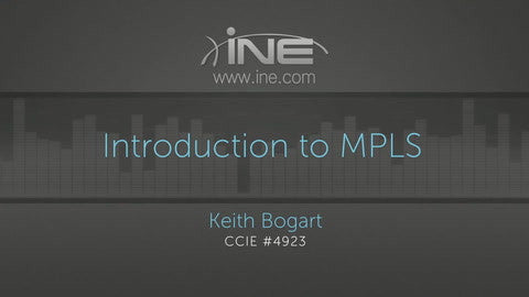 Introduction To MPLS - INE
