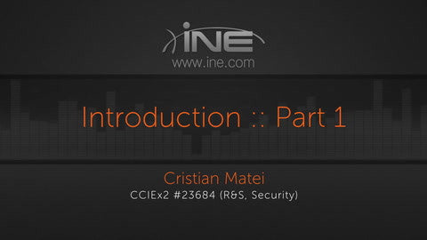 CCNA Security Bootcamp :: 210-260 IINS
