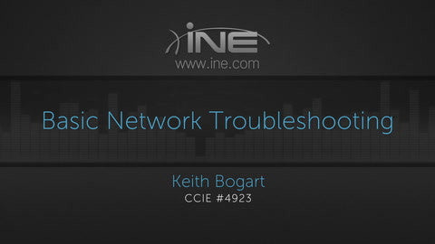 Basic Network Troubleshooting - INE