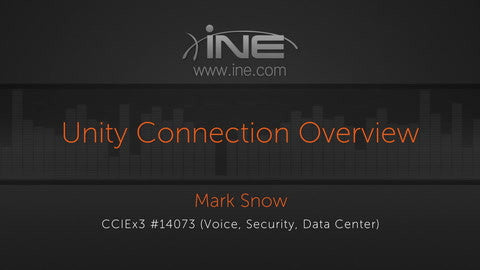CCIE Collaboration: Unity Connection