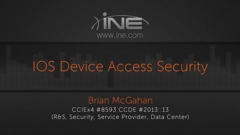 CCIE R&S V5 :: IOS Security