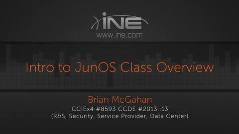 Introduction To JunOS - INE