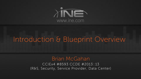 Intro To CCIE Service Provider V4