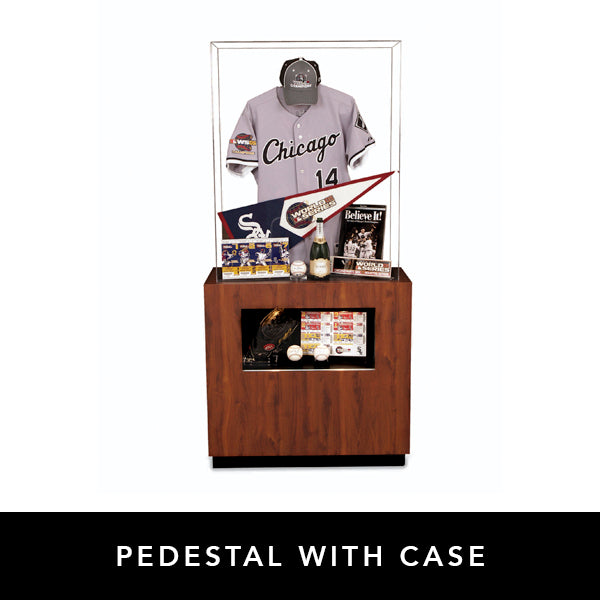 Pedestal with Case