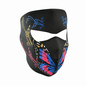 Neoprene All-Season Full Face Mask - Butterfly