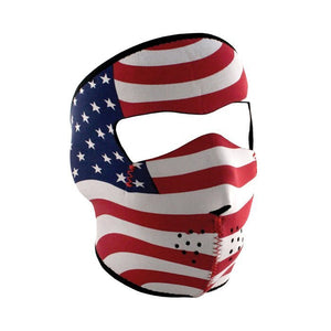 Neoprene All-Season Full Face Mask - Stars & Stripes