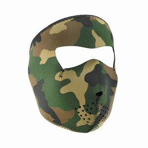 Neoprene All-Season Full Face Mask - Woodland