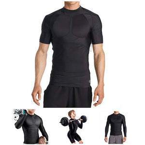 Gold's Gym Men's Body Mapping Compression Shirt